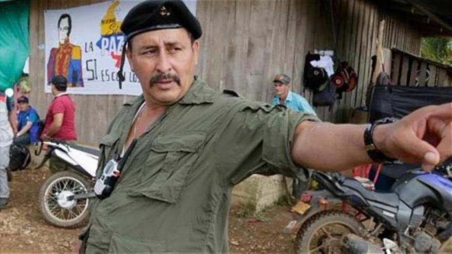 Olivio Iván Merchán Gómez, alias Loco Iván, jefe de una de las guerrillas disidentes de las FARC.