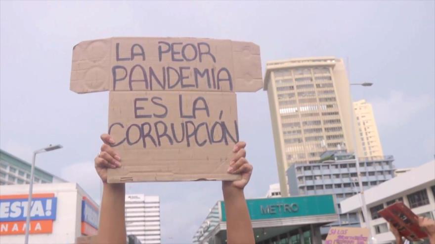 Panameños cuestionan partidas millonarias en medio de emergencias