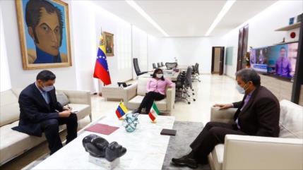 """Irán y Venezuela optan por reforzar """"cooperación estratégica"""""""