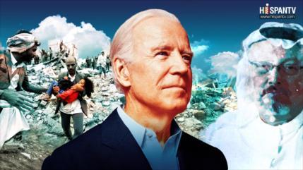 Sr. Biden; ¿qué es más cruel, asesinato de Khashoggi o hambruna yemení?