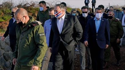 Siria y Liga Árabe condenan visita de Pompeo a Cisjordania y Golán