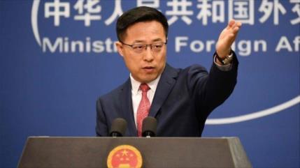"""China denuncia mentiras de """"fósiles de la Guerra Fría"""" en EEUU"""