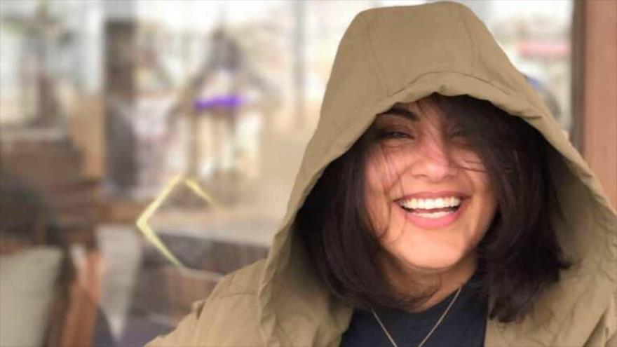 La activista de derechos de la mujer saudí, Loujain al-Hathloul.