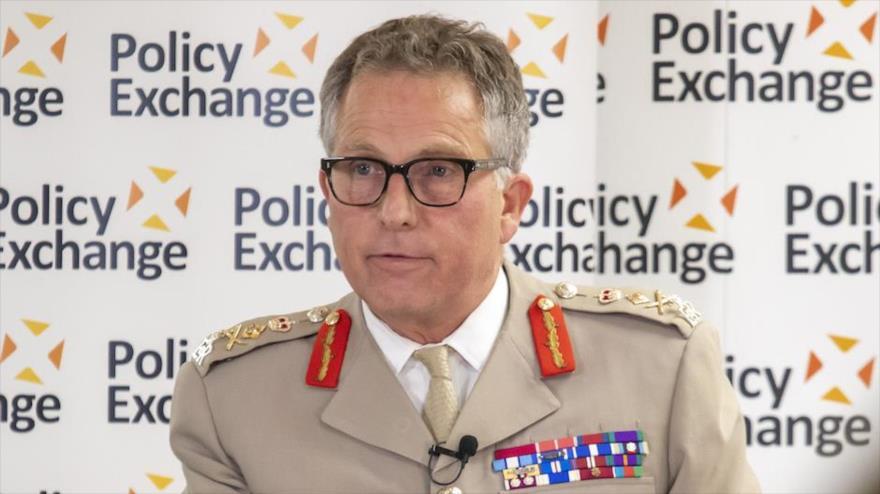Nick Carter, jefe del Estado Mayor de las Fuerzas Armadas británicas, en un acto celebrado en Londres, 30 de septiembre de 2020. (Foto: Gov.UK)