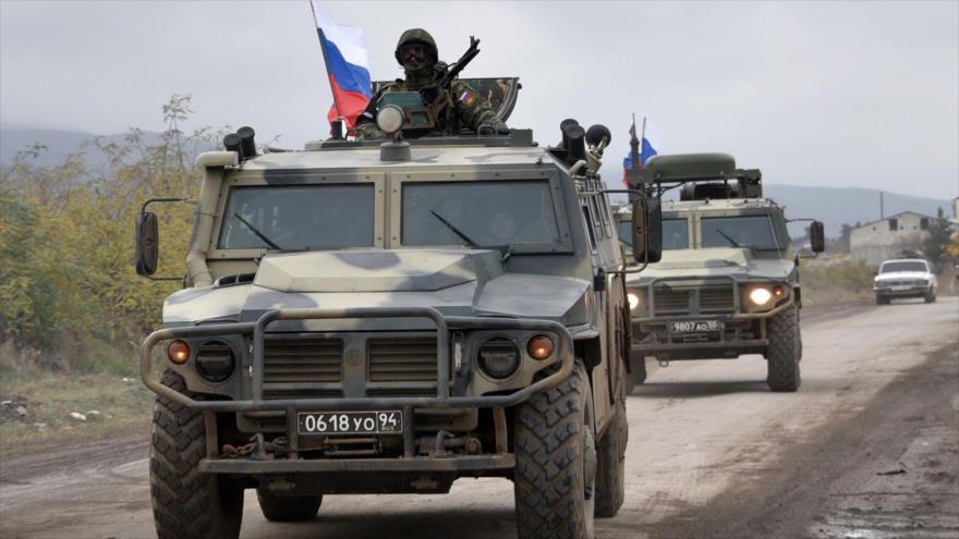 Pacificadores rusos avanzan hacia Agdam, en Nagorno Karabaj | HISPANTV