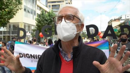 Paro nacional en Colombia contra el Gobierno de Iván Duque
