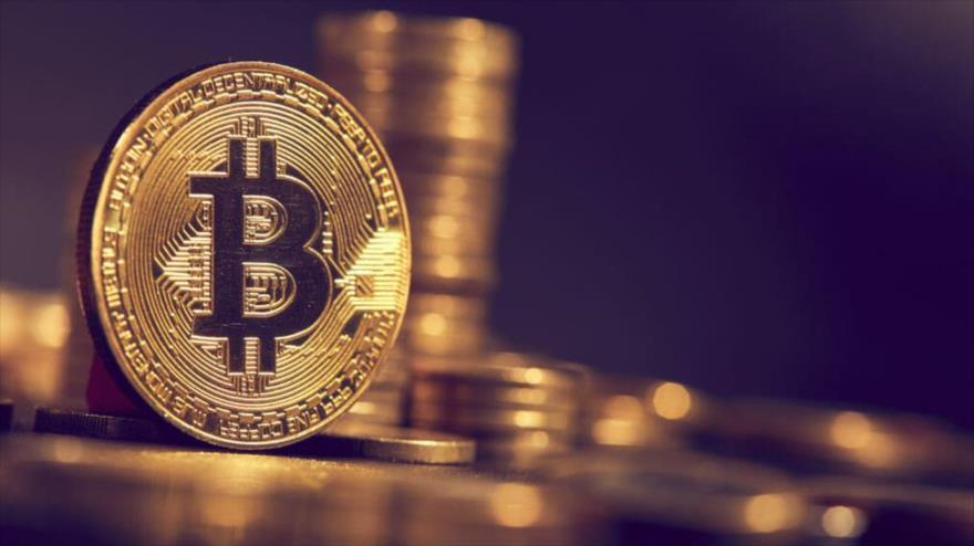 La criptomoneda bitcoin.
