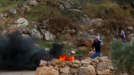 Israel reprime violentemente protesta palestina contra colonias