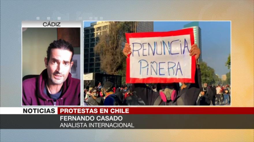 Chile vive una explosión social en reclamación de más reformas