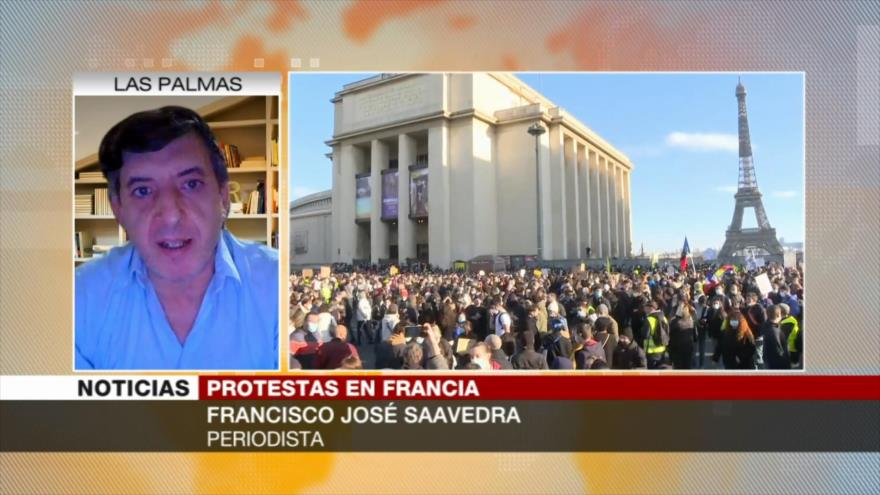 """""""En lugar de resolver problemas, Macron endurece la represión"""""""