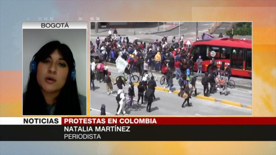 Martínez: Huracán, nueva excusa de Duque para ignorar protestas