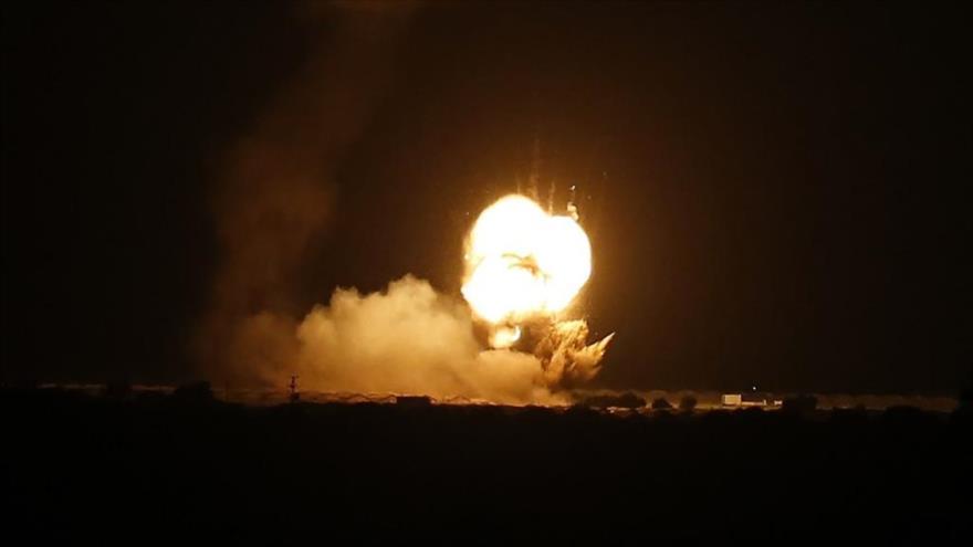 Aviones de guerra de Israel vuelven a bombardear la Franja de Gaza | HISPANTV