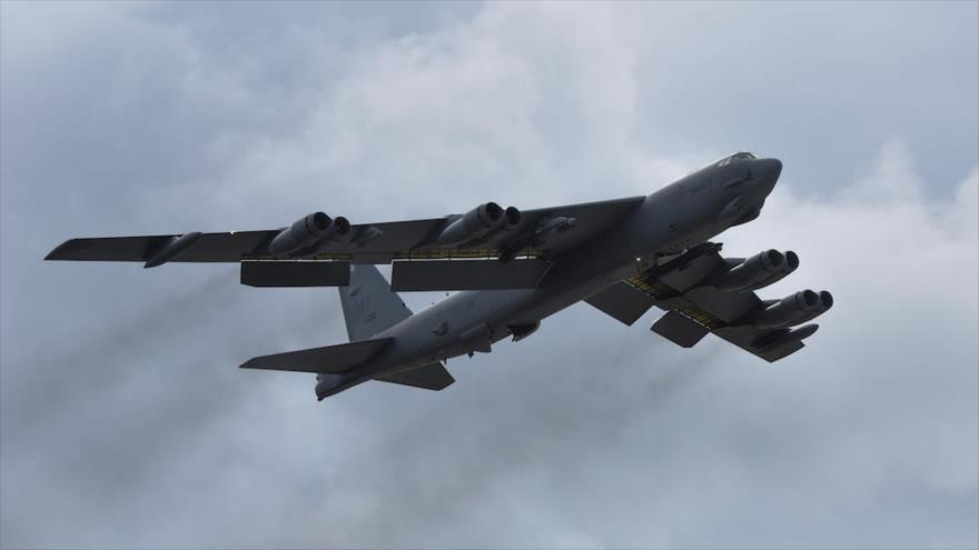 Un bombardero B-52 de la Fuerza Aérea de EE.UU. despega de la base Andersen, Guam. (Foto: Reuters)