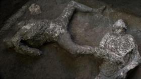 Encuentran en Pompeya restos de víctimas de erupción del año 79