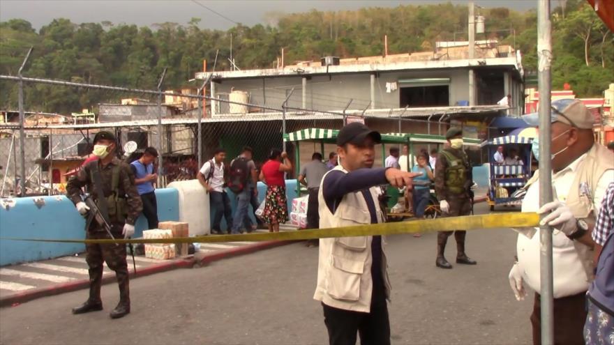 Pandemia agudiza la inseguridad en frontera sur de México