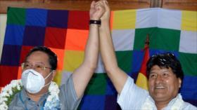 Primer reencuentro de Arce con Morales desde su retorno a Bolivia