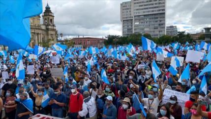 Guatemaltecos ya no toleran al presidente Alejandro Giammattei