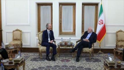 Irán pide fin de las sanciones injustas impuestas contra Siria