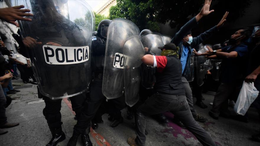 CIDH denuncia represión indiscriminada de protestas en Guatemala | HISPANTV