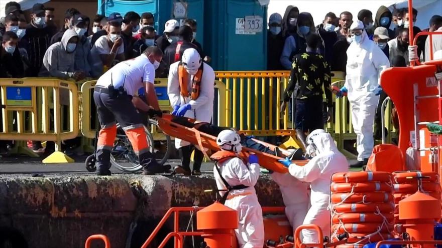 Drama humanitario en Canarias por migración irregular