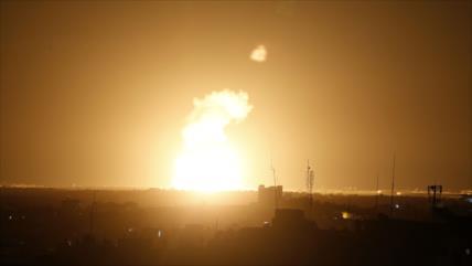 """HAMAS tilda de """"un intento estúpido"""" nuevo ataque israelí a Gaza"""