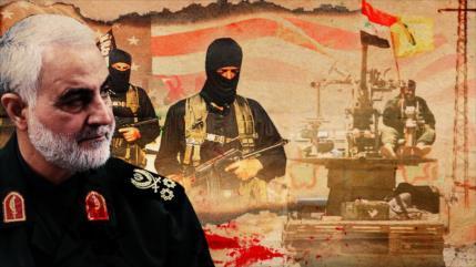 """Soleimani y """"Genialidad táctica militar"""" para liberar Abu Kamal"""