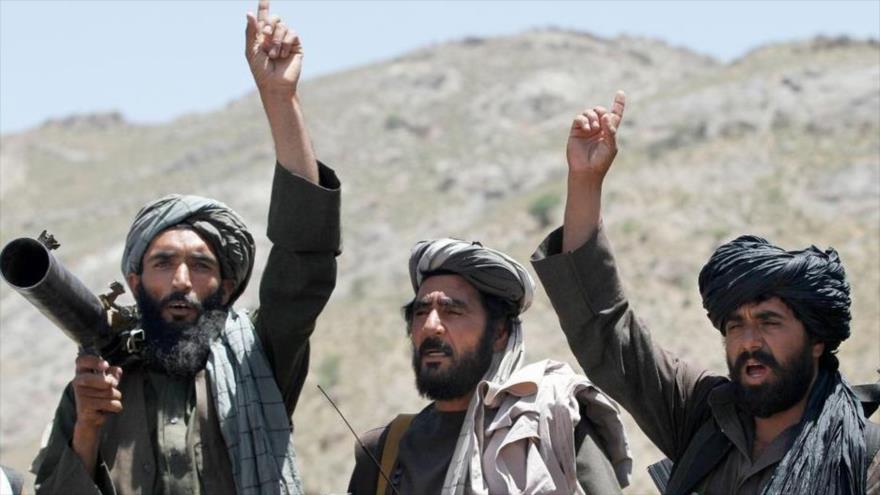 Miembros del grupo armado Talibán en Afganistán. (Foto: AP)