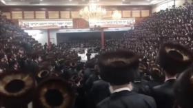 Celebran una boda judía con 7000 invitados en plena pandemia en EEUU