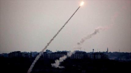 HAMAS muestra su capacidad militar con disparos de misiles