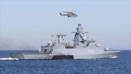 Vídeo: Polémico choque de una fragata alemana con un navío turco