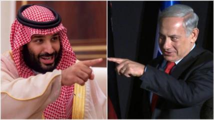 """Reunión Netanyahu-Bin Salman marca la """"debacle"""" de líderes saudíes"""