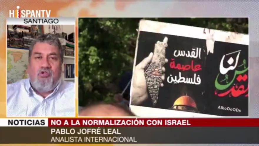 "Jofré Leal: La causa palestina sigue en pie pese a ""traición árabe""   HISPANTV"
