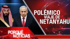 El Porqué de las Noticias: Viaje de Netanyahu a Arabia Saudí. Violencia en Colombia. Libertad de prensa en Francia
