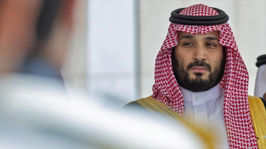 El príncipe heredero saudí, Muhamad bin Salman, en una reunión en Riad (capital), 20 de noviembre de 2019. (Foto: AFP)