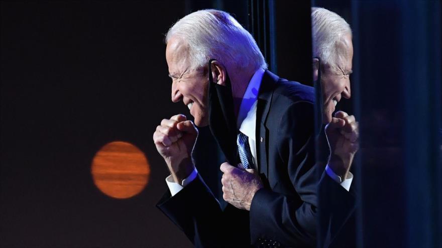 El presidente electo de Estados Unidos, Joe Biden, 8 de noviembre de 2020. (Foto: AFP)