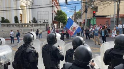 Protestas masivas en Guatemala para pedir la renuncia del presidente