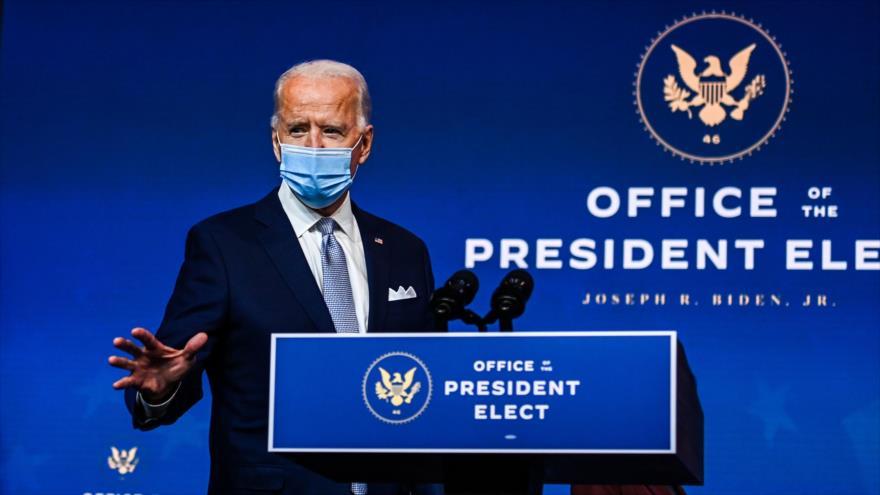 """Joe Biden asegura que EEUU está listo para """"liderar el mundo"""""""
