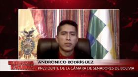 Presidente del Senado boliviano exige liberar a los presos del MAS