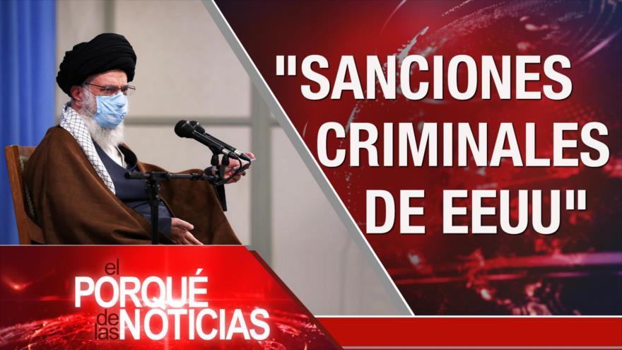 Discurso del Líder de Irán. Crisis en Afganistán. Protestas en Guatemala