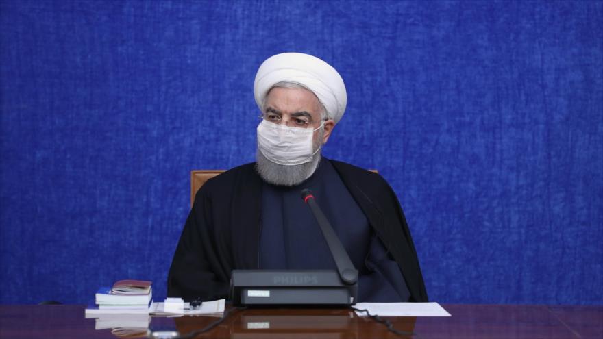 Rohani: Irán es capaz de producir en masa vacuna contra COVID-19 | HISPANTV