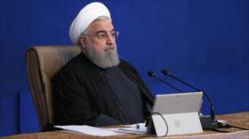 Rohani insta a Biden a compensar errores de Trump hacia Irán