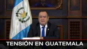 Fracaso de EEUU. Entrevista con HispanTV. Crisis en Guatemala - Boletín: 12:30 - 25/11/2020