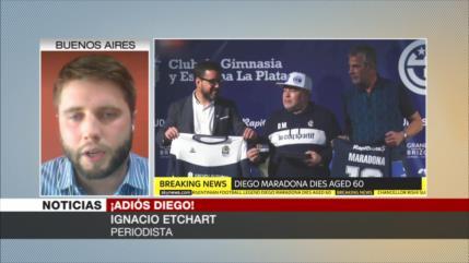 Etchart: Maradona alzó la voz de los humildes