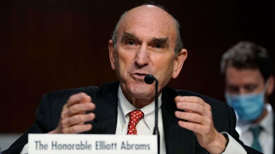 El representante especial de EE.UU. para Irán y Venezuela, Elliott Abrams, testifica ante el Senado, Washington, D.C ., 24 de septiembre de 2020. (Foto: AFP)