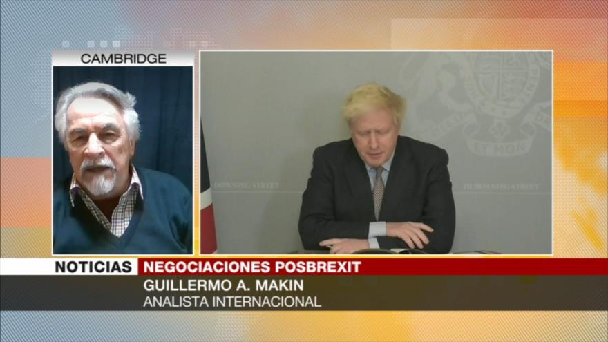 Makin: Le queda mejor a Johnson no lograr un acuerdo con UE