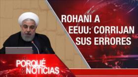 El Porqué de las Noticias: Postura de Irán. Crisis poselectoral en EEUU. Elecciones en Venezuela