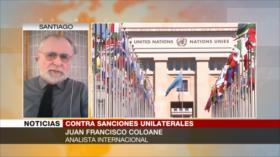Coloane: ONU debe presionar a EEUU para que cese el unilateralismo