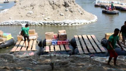 Sin control el contrabando de mercancías en Frontera Sur de México