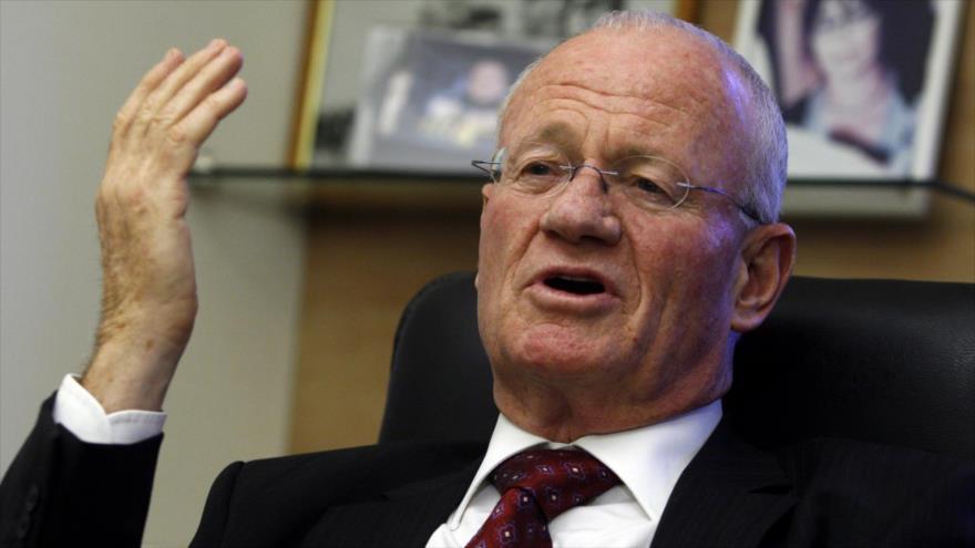 Danny Yatom, el exjefe del servicio de inteligencia israelí (el Mossad).