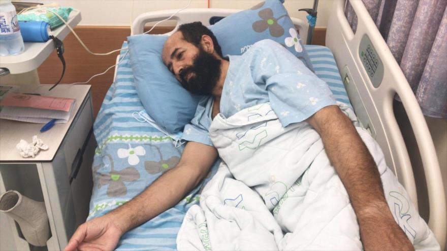 Por fin, Israel se vio obligado a liberar preso palestino Al-Ajras